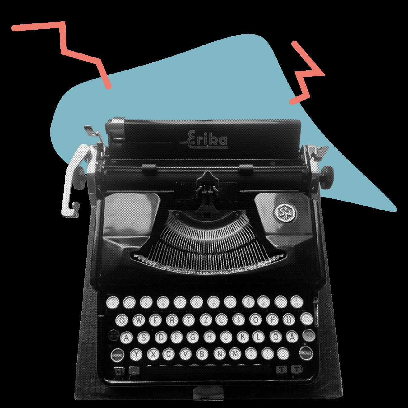 Schreibmaschine neue Farben